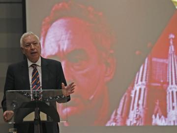 José Manuel García-Margallo, durante su intervención en el acto de presentación de la Marca España
