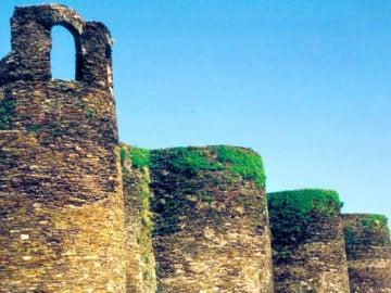 Vista de la muralla de Lugo