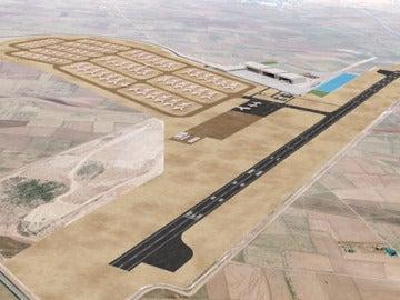 El aeropuerto de Teruel