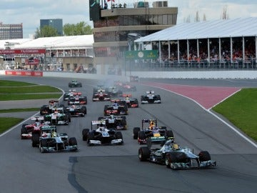 Salida GP de Canadá 2013