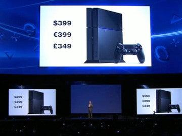 Presentación de la PlayStation 4