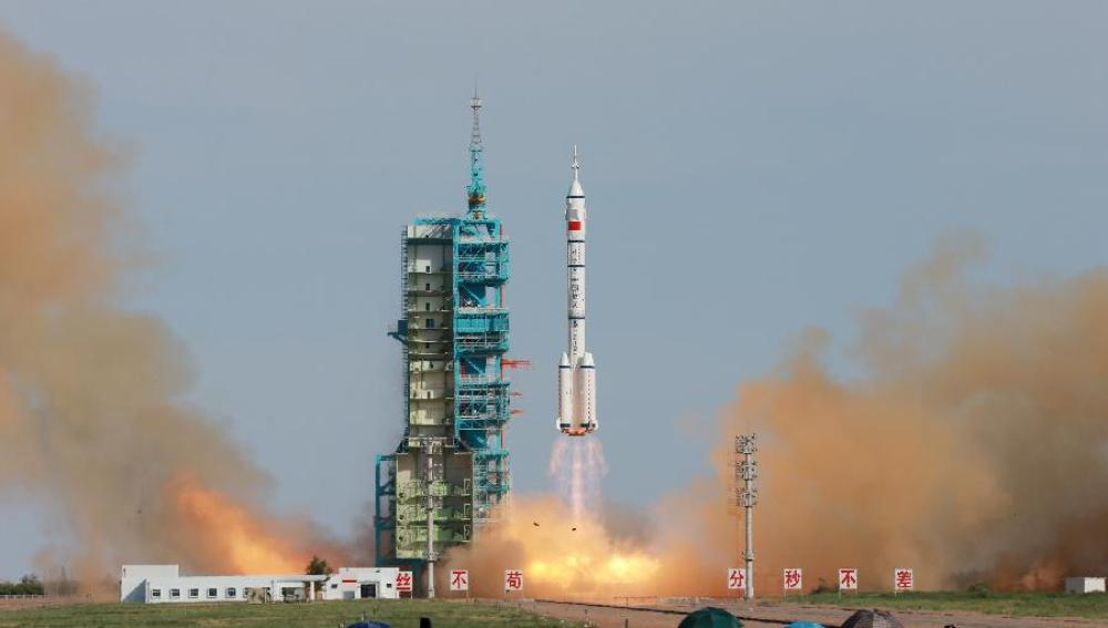 La nave 'Shenzhou-10'