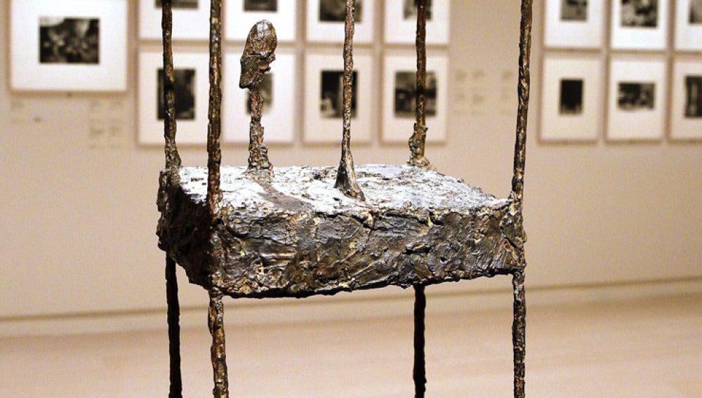 Exposición de Giacometti en Madrid