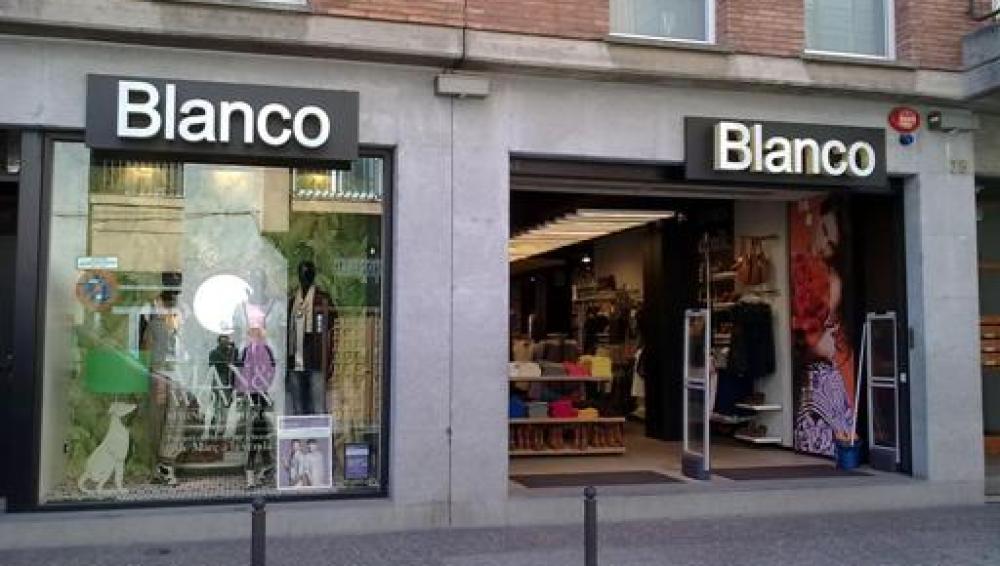 Blanco comienza a liquidar sus tiendas