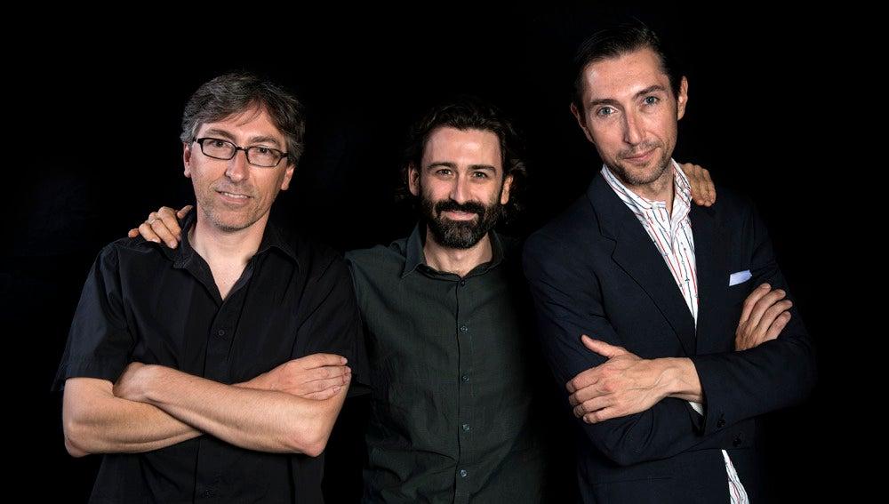 David Trueba, Javier Limón y Toni Garrido