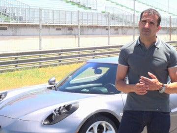 Marc Gené al volante del nuevo Alfa Romeo
