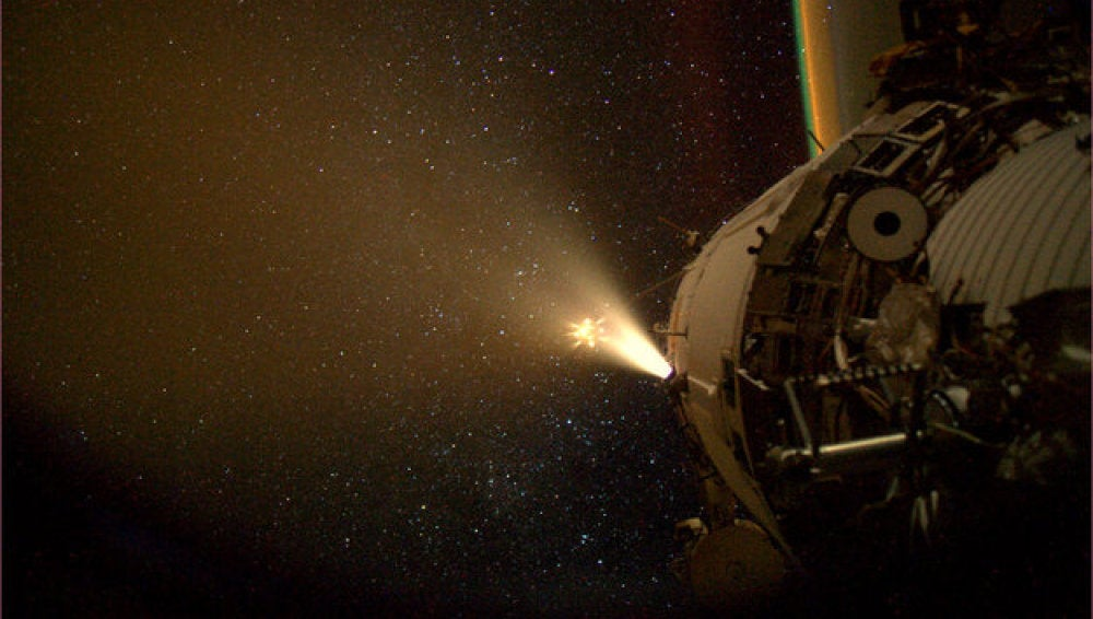 El carguero espacial ATV-4