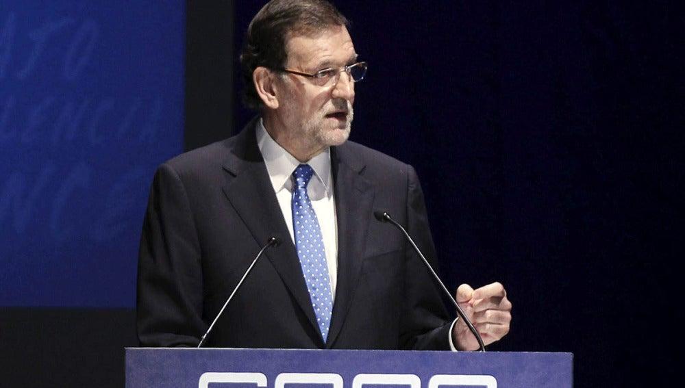 """Rajoy asegura que seguirá con las reformas porque """"se está en el buen camino"""""""