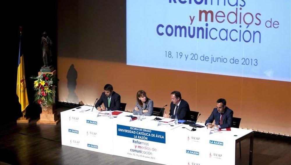 Directores de informativos de Tve, Antena 3 y Mediaset España