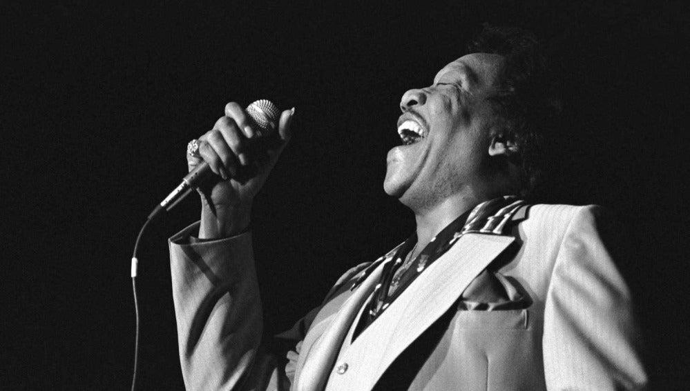 El cantante Bobby Bland