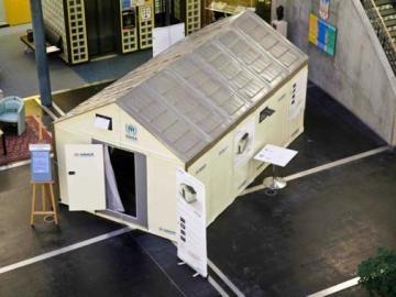 Prototipo del refugio de Ikea