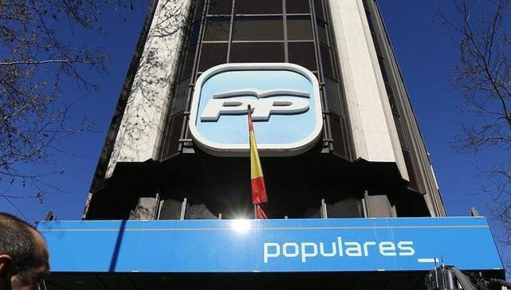 Imagen de la sede nacional del Partido Popular (Archivo)
