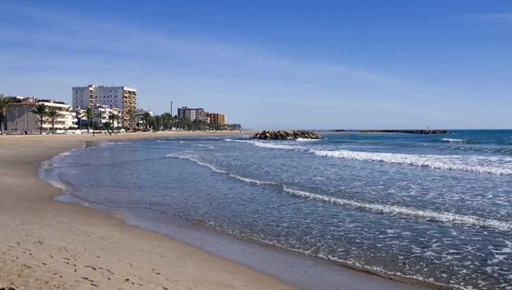 Playa de Cunit en Barcelona