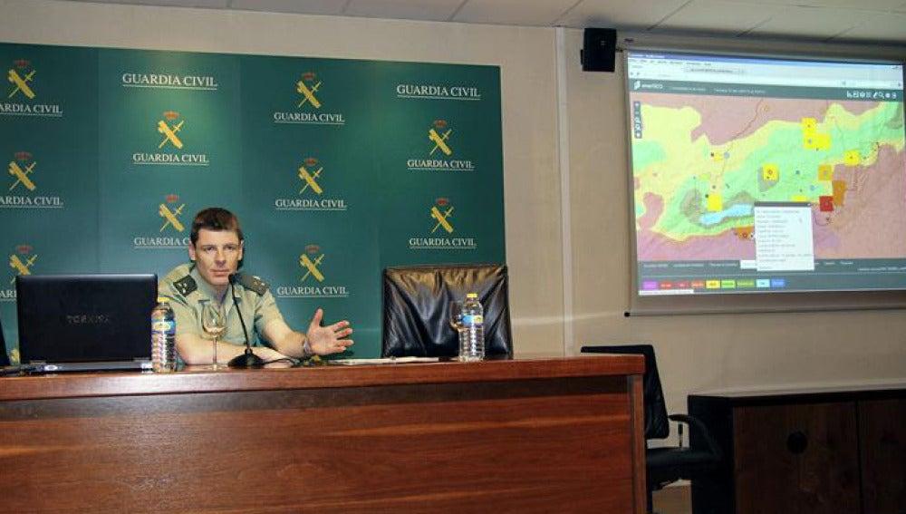 La Guardia Civil presenta una nueva herramienta para prevenir incendios