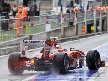 Alonso, listo para la acción