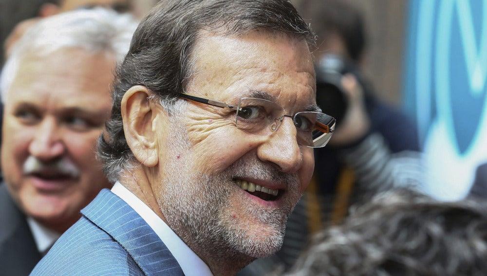 Rajoy en la Cumbre Europea