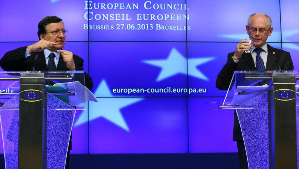 Los líderes europeos en el Consejo