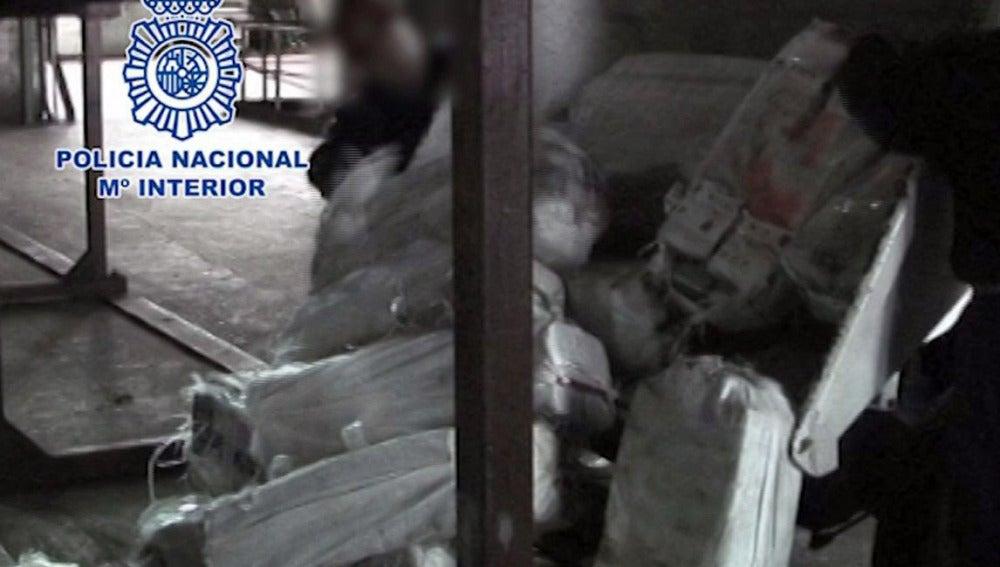 Los más de 3.400 kilos de cocaína incautados el mes pasado en la operación Albatros