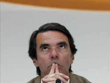 Aznar en los cursos de verano de FAES