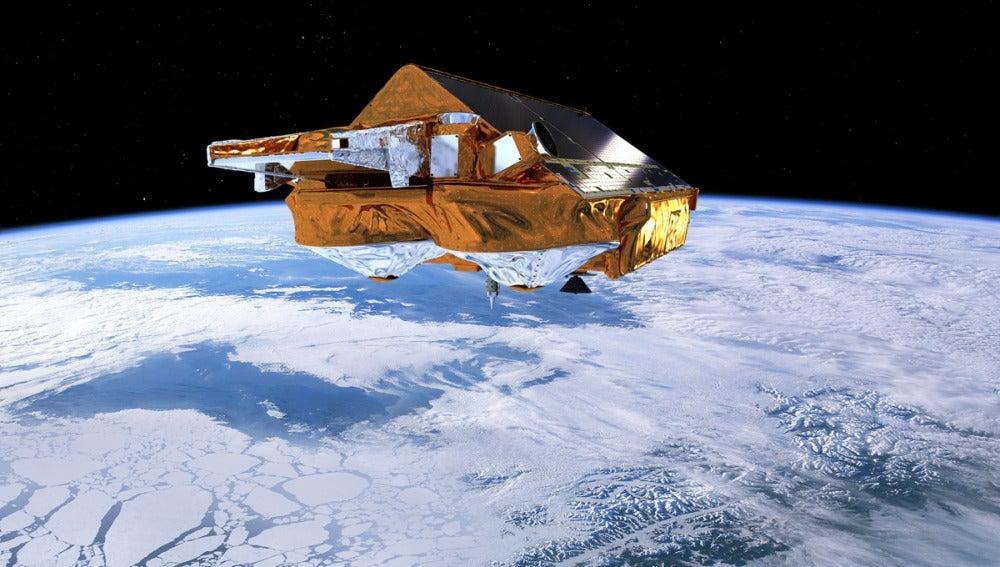 Descubren un cráter bajo la superficie de la Antártida