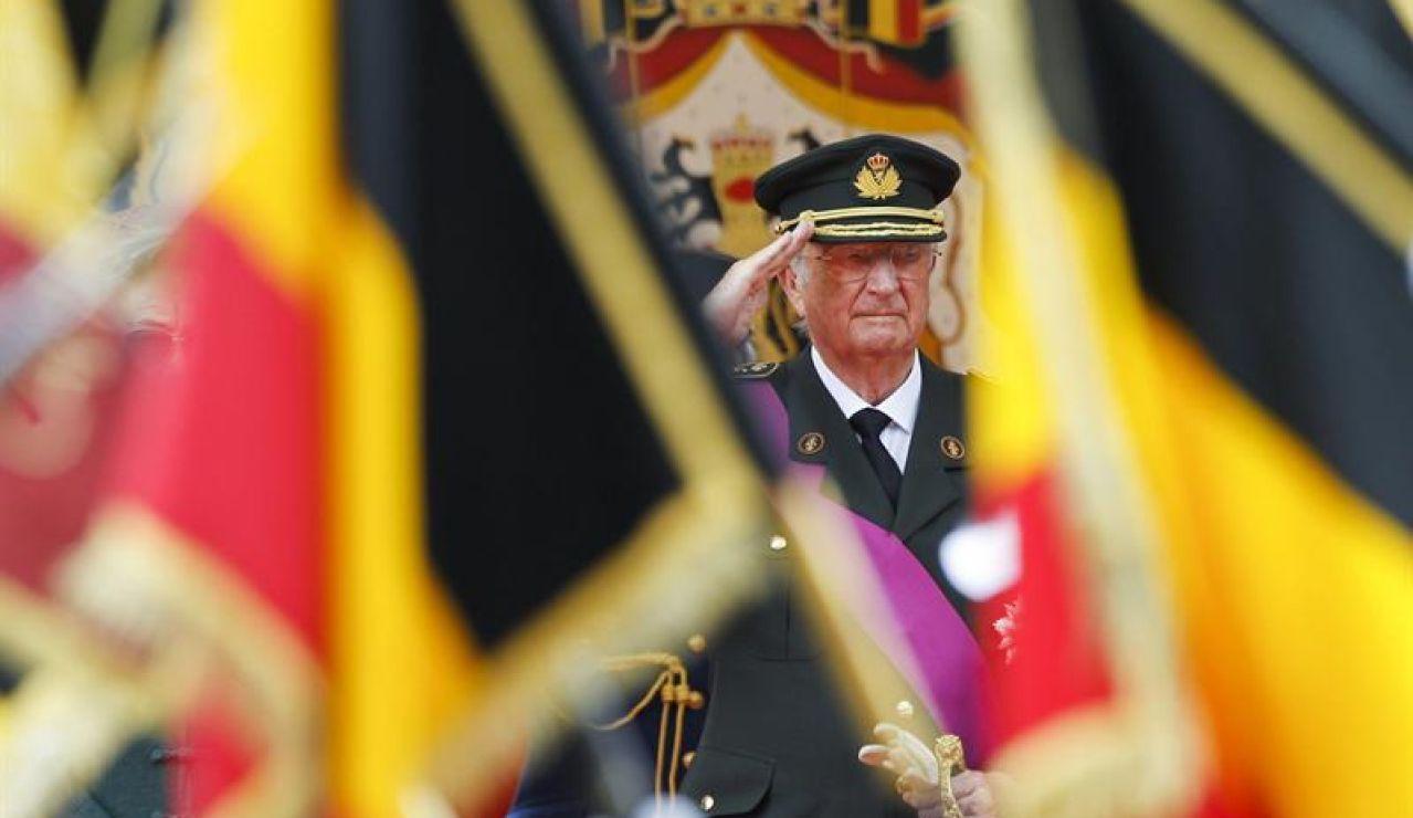 El rey Alberto II de Bélgica