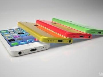 Posibles carcasas de colores del iPhone low cost