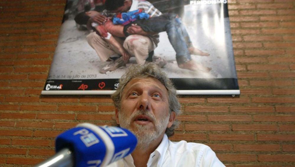 El director del Encuentro Internacional de Fotoperiodismo, el premio Pulitzer Javier Bauluz