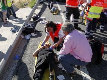 El accidente del autobús dejó nueve fallecidos