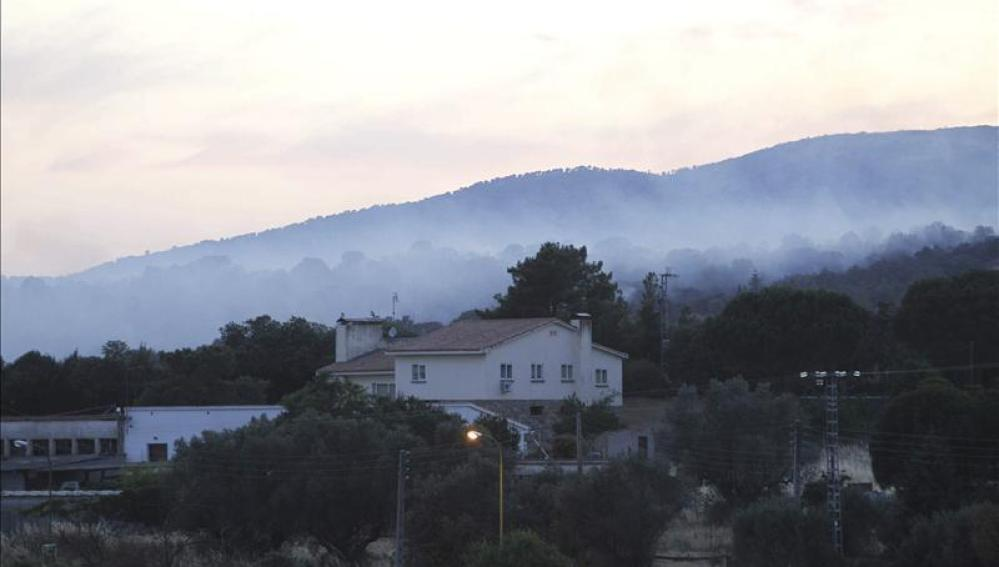 Incendio en Valdemorillo