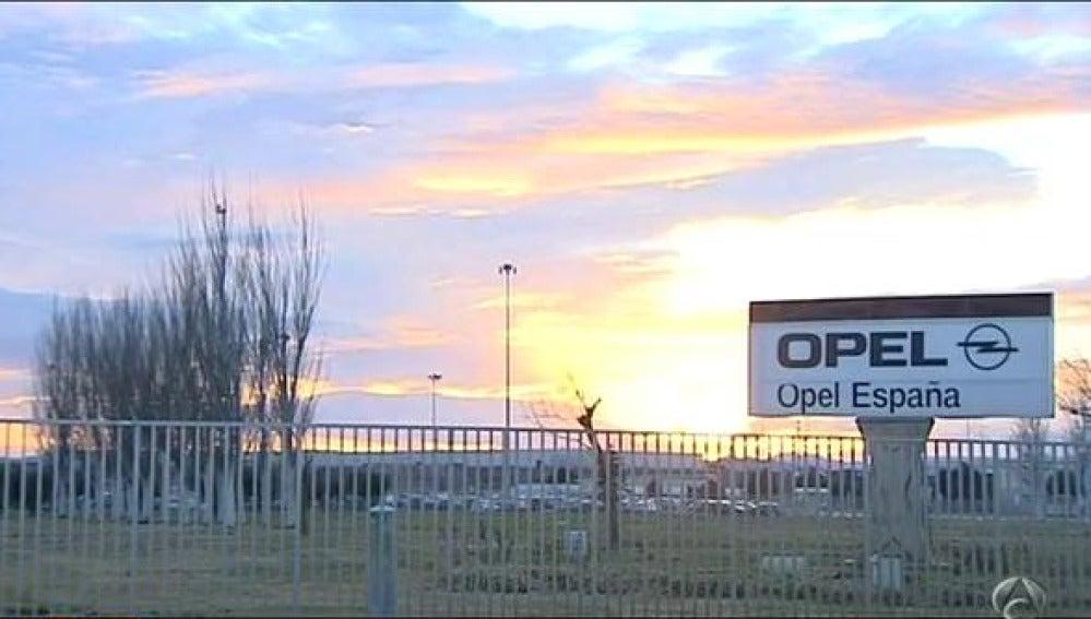 Planta de Opel en España