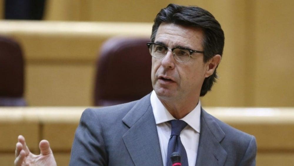 El ministro de Industria y Energía, José Manuel Soria