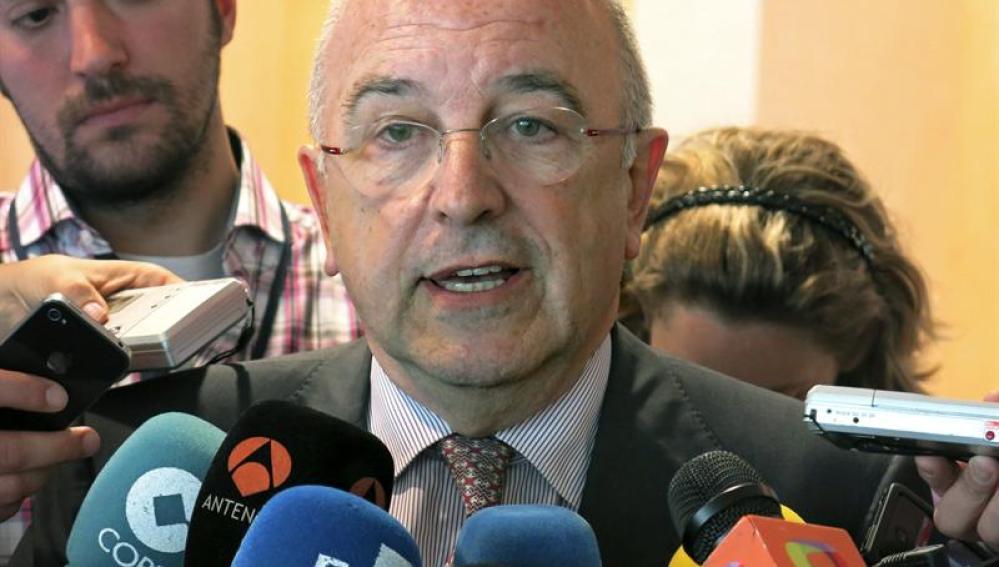 El vicepresidente de la Comisión Europea (CE) y responsable de Competencia, Joaquín Almunia