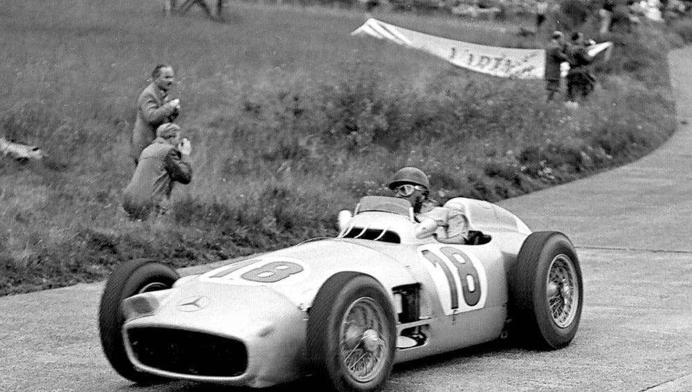 El Mercedes W196 de Juan Manuel Fangio