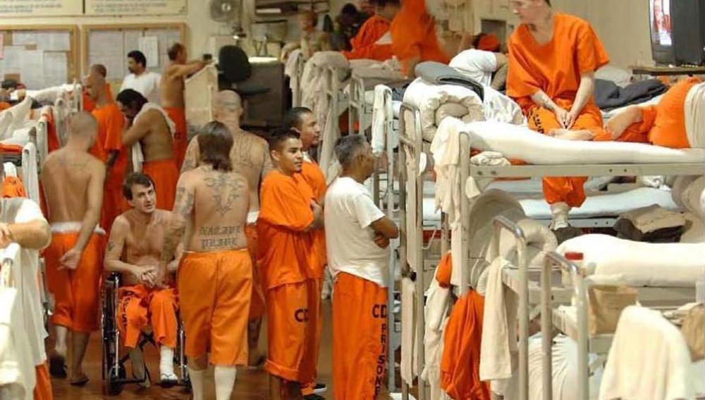 Presos en una cárcel de California, EEUU