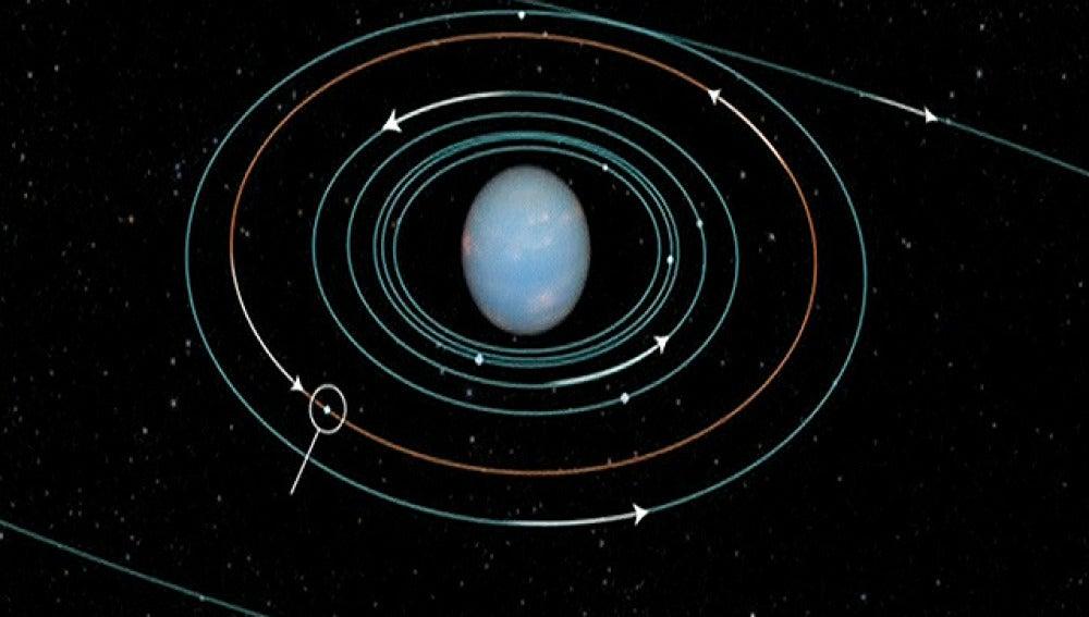 La nueva luna de Neptuno: S/2004 N1