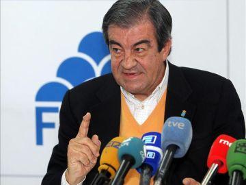 El presidente de Foro Asturias, Francisco Álvarez-Cascos.