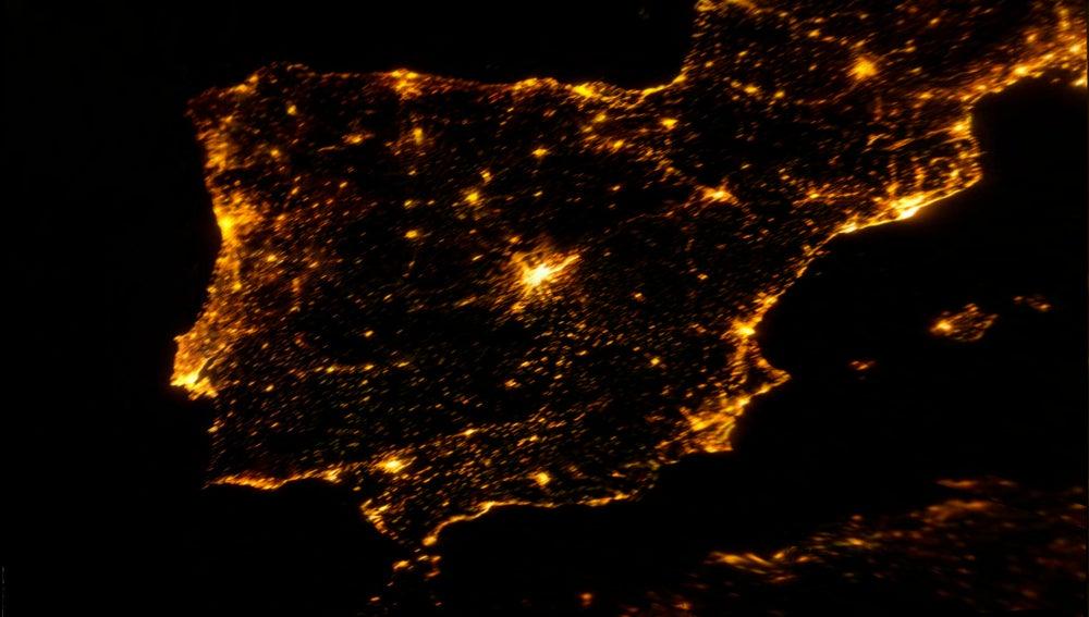 Mosaico de imágenes de la Estación Espacial Internacional