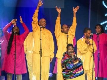 El gospel de 'Los Angeles Crenshaw Gospel Choir'.