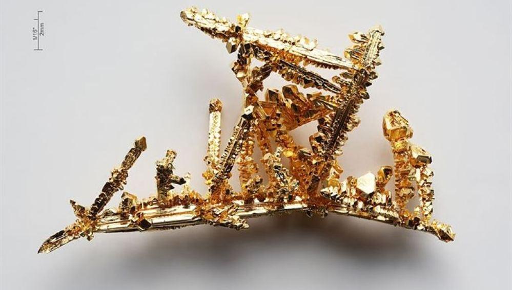 Una pieza de oro