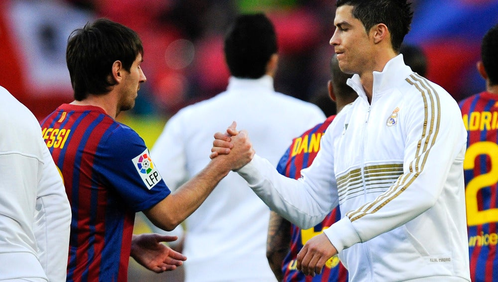Leo Messi y Cristiano Rolando
