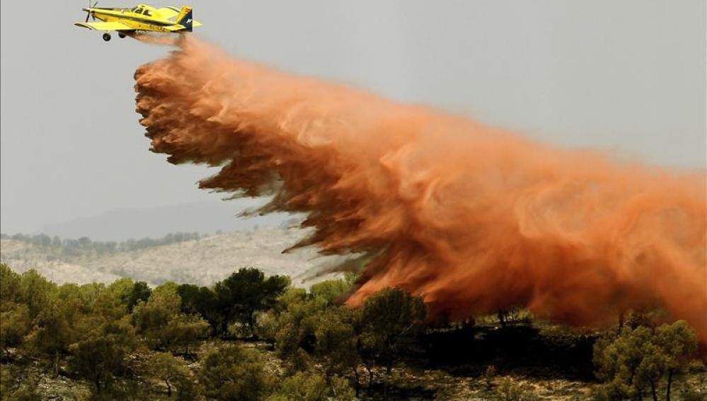 El incendio de Benaguacil ha quemado 78 hectáreas de tres municipios de Valencia