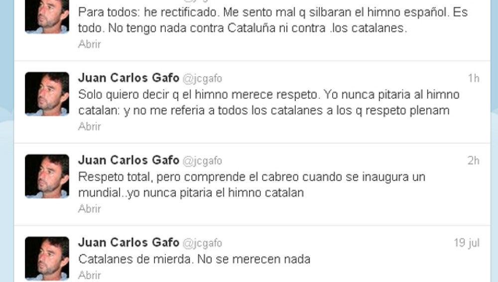 Juan Carlos Gafo, en Twitter