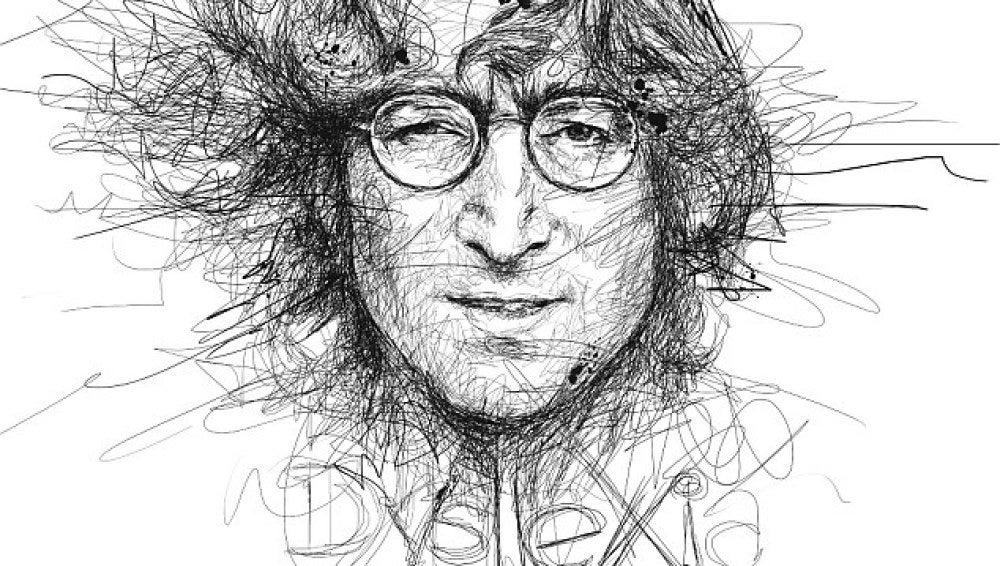 John Lennon según Vince Low