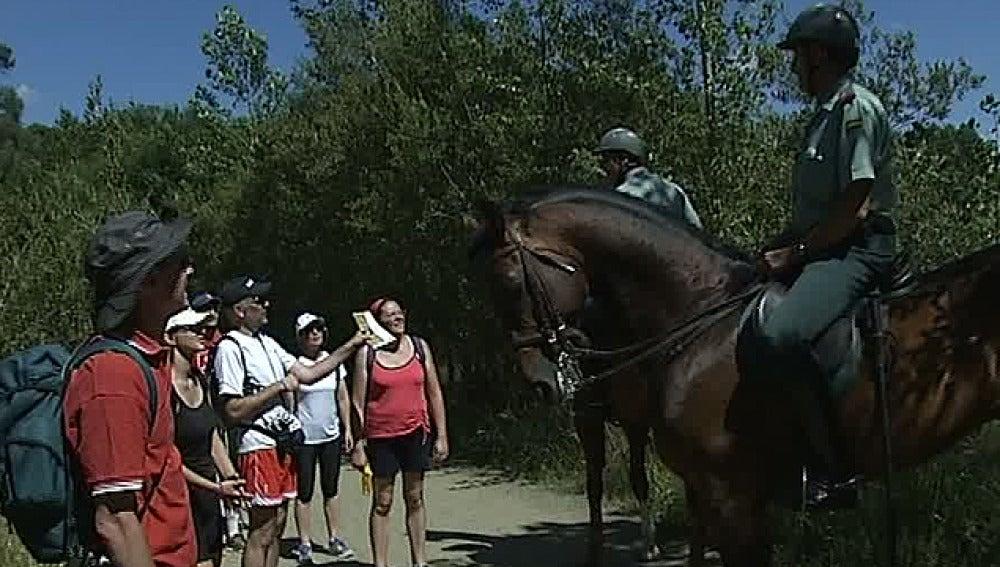 Más de 500 agentes vigilan las rutas del Camino de Santiago