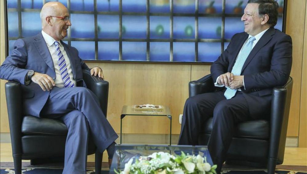 Duran i Lleida reunido con Barroso