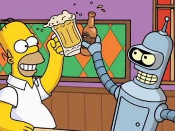 'Los Simpson' y 'Futurama'