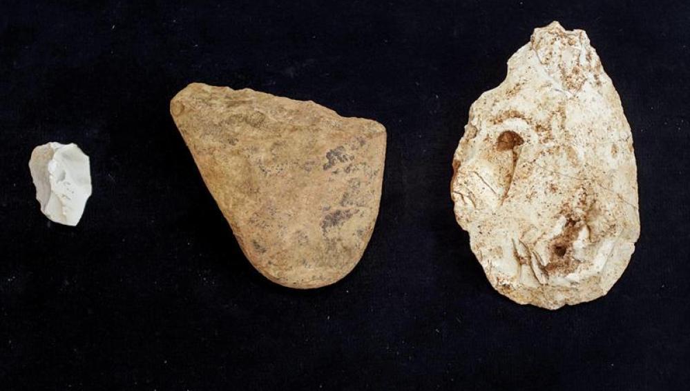 Un cuchillo, el vestigio de homínidos más antiguo de Atapuerca