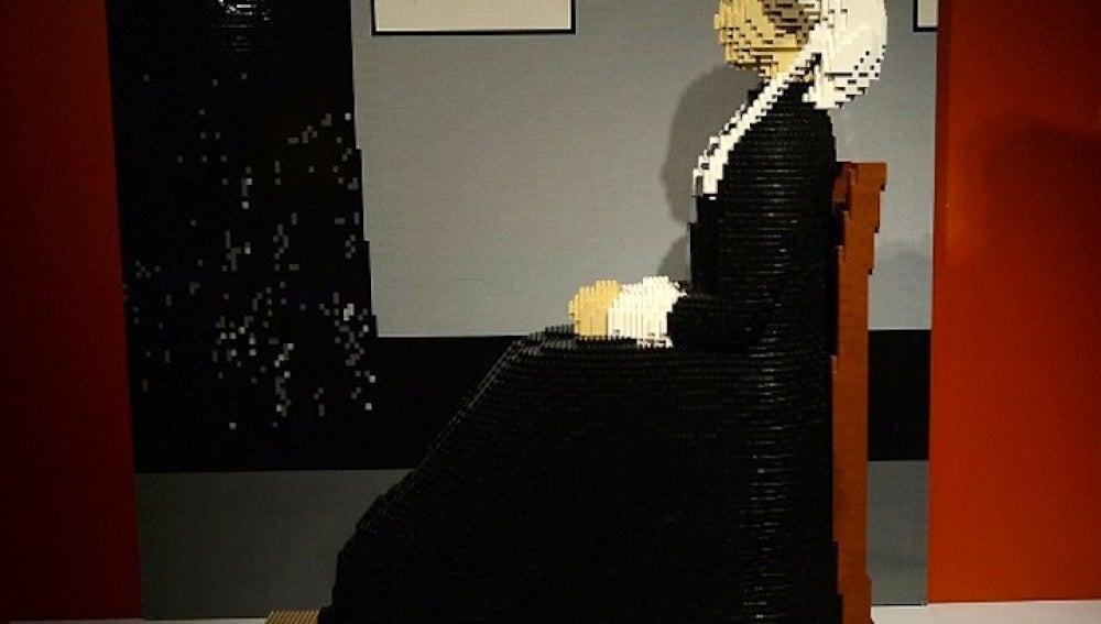 Obras maestras creadas con LEGO