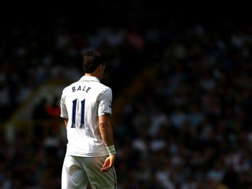 Gareth Bale en un partido contra el Tottenham