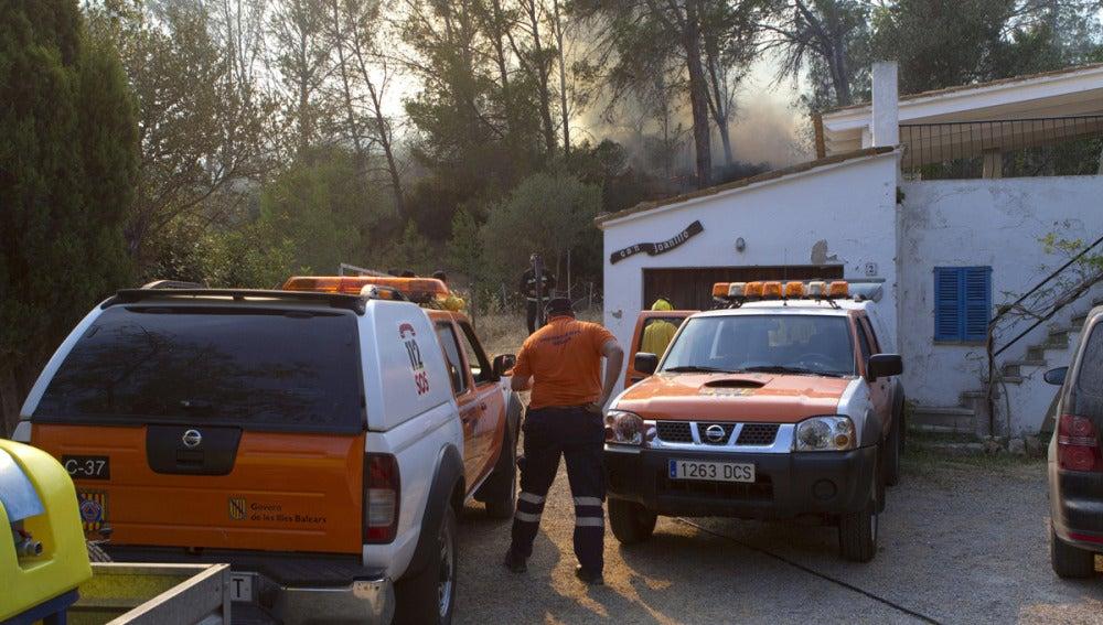 El fuego ha quemado 900 hectáreas en Andratx